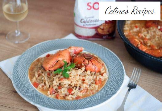 How to prepare rice with lobster