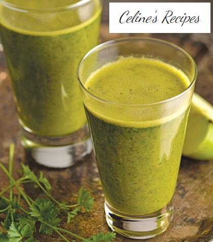 Concentrated green juice