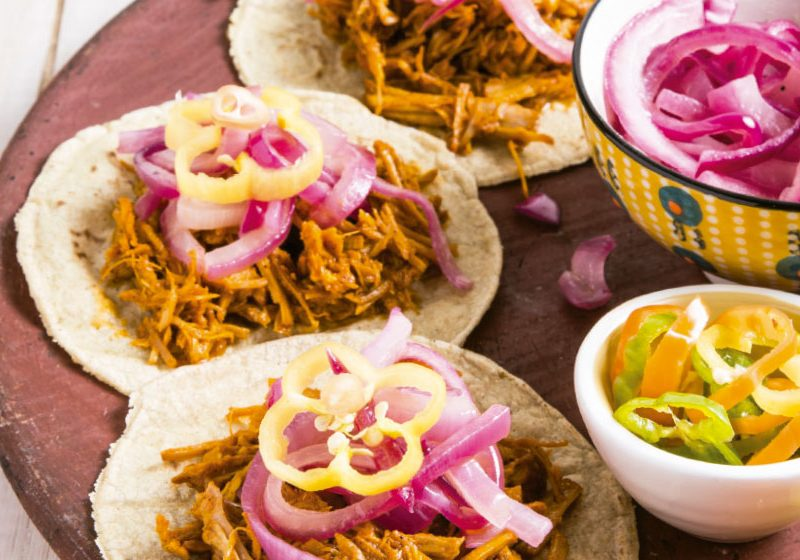 The ingredients of the traditional cochinita pibil